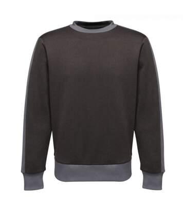 Regatta - Sweat Contrast - Homme (Noir / gris) - UTRG4085