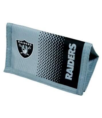 Poretfeuille Officiel Nfl Oakland Raiders - Homme (Noir/Argent) - UTSG10249