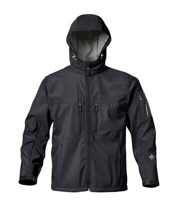 Stormtech Mens Premium Epsilon H2xtreme Water Resistant Breathable Jacket (Black) - UTBC1178