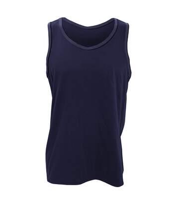 Anvil Mens Fashion Basic Tank Top / Sleeveless Vest (Navy) - UTRW2529