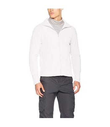 Result Core Mens Micron Anti Pill Fleece Jacket (White) - UTBC852
