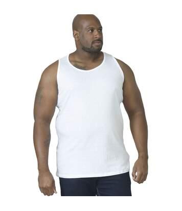 Duke Mens Fabio-1 Kingsize Muscle Vest (White) - UTDC171