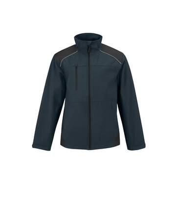 B&C Mens Shield Softshell Pro Jacket (Navy) - UTRW4834
