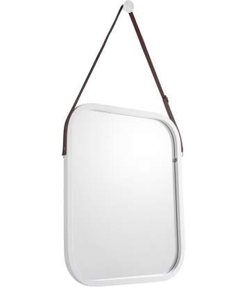 Miroir carré en bambou à suspendre Idyllic
