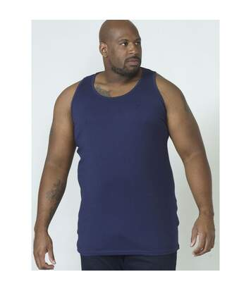 Duke - Débardeur de sport FABIO 1 - Homme (Grande Taille) (Bleu marine) - UTDC171
