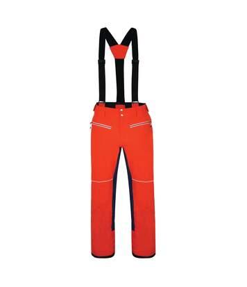 Dare 2B Mens Intrinsic Ski Pants (XXL) (Fiery Red/Admiral Blue) - UTRG4326