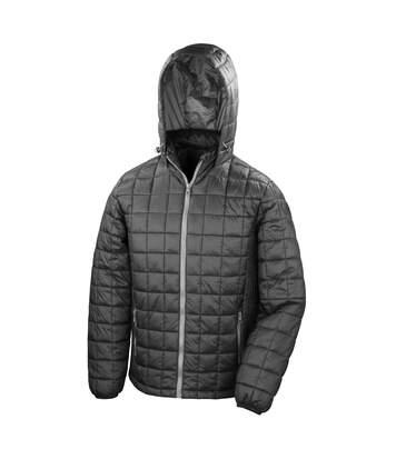 Result Adults Unisex Urban Outdoor Blizzard Jacket (Black/Phantom Grey) - UTRW5159