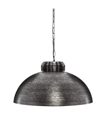 Atmosphera - Suspension Erie en métal Gris style industriel  D 51 cm