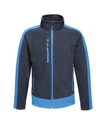 Regatta Mens Contrast Fleece Jacket (Navy/New Royal) - UTRG3568