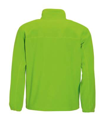 SOLS Mens North Full Zip Outdoor Fleece Jacket (Lime) - UTPC343