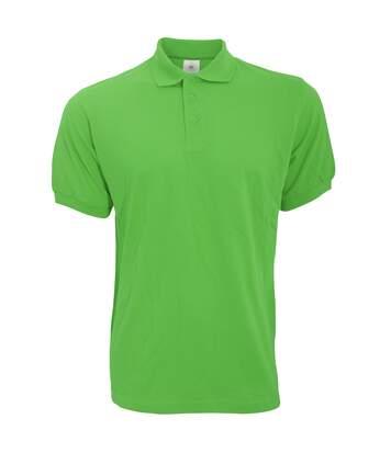 B&C Safran Mens Polo Shirt / Mens Short Sleeve Polo Shirts (Real Green) - UTBC103