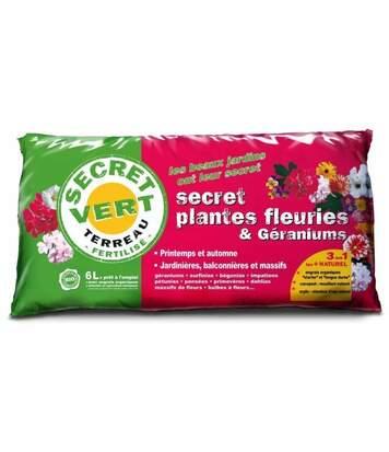 Terreau pour plantes fleuries et géraniums 1,8kg