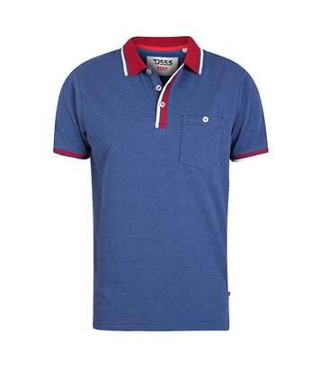 Duke Mens Nigel Kingsize Pique Polo Shirt (Denim Marl) - UTDC251
