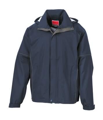 Result Mens Urban Outdoor Lightweight Technical Jacket (Waterproof & Windproof) (Navy) - UTRW3244