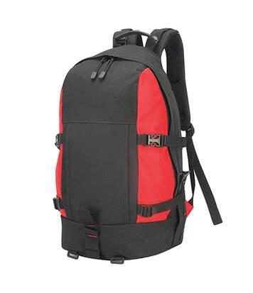 Sac à dos randonnée trekking - 35L - 1788 - rouge black