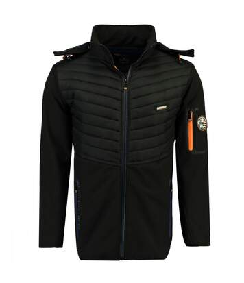 Veste softshell noire homme Geographical Norway Tylonshell