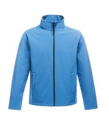 Regatta Standout Mens Ablaze Printable Soft Shell Jacket (Navy/French Blue) - UTPC3322
