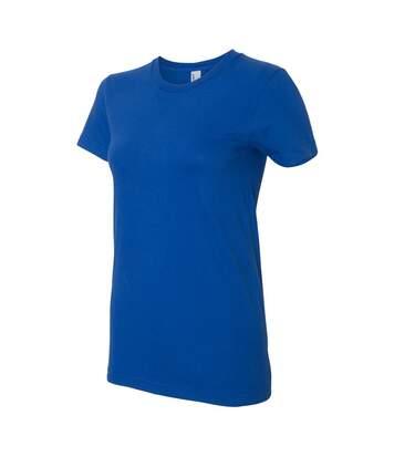 American Apparel - T-Shirt - Femme (Bleu roi) - UTBC4005