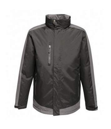Regatta Mens Contrast Insulated Jacket (Seal Grey/Black) - UTPC3315