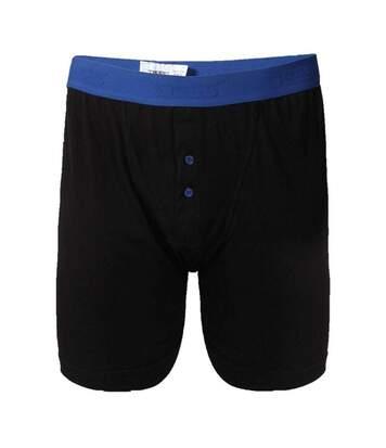 Duke Mens Ranger Kingsize Boxer Shorts (2 Pairs) (Black) - UTDC191