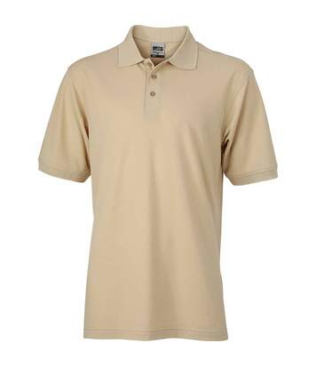 Polo homme workwear - JN830 - beige pierre