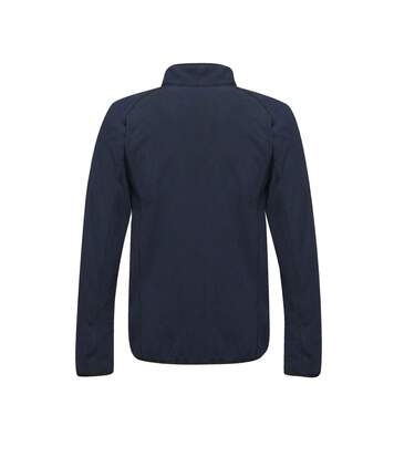Regatta Mens Dreamste Full Zip Mini Honeycomb Fleece (Navy) - UTRG4158