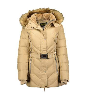 Parka beige femme Geographical Norway Becky