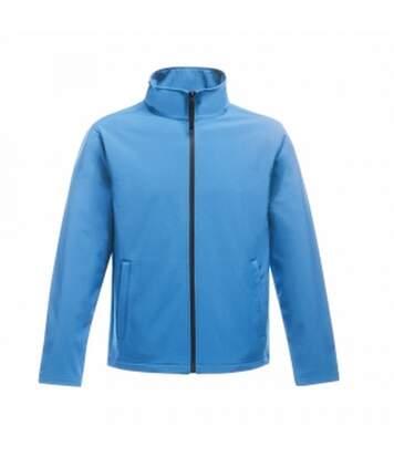 Regatta Mens Ablaze Printable Softshell Jacket (French Blue/Navy) - UTRG3560