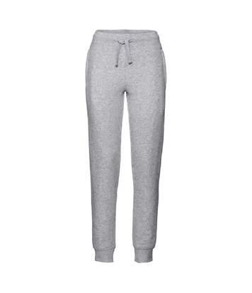 Pantalon jogging femme - R-268F - gris chiné
