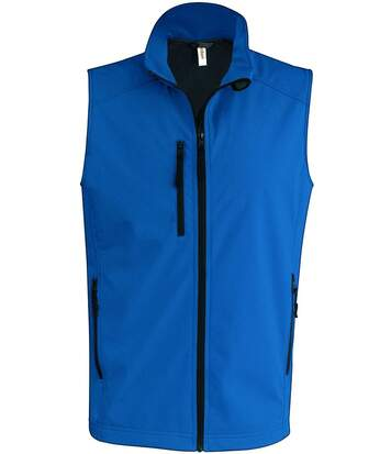 Bodywarmer softshell - gilet sans manches - K403 - bleu aqua - Homme