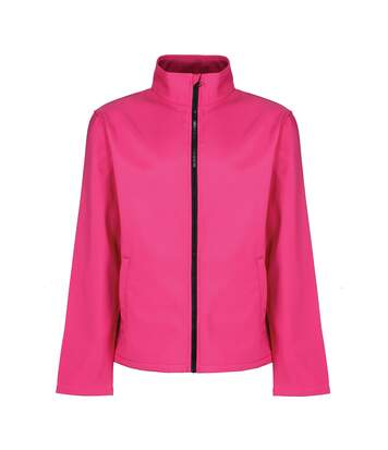 Regatta Mens Ablaze Printable Softshell Jacket (Hot Pink/Black) - UTRG3560