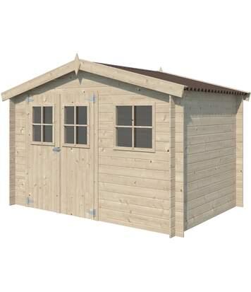 Chalet en bois 6.05 m² Narvik Sans option
