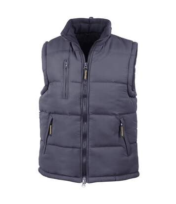 Result Mens Ultra Padded Bodywarmer Water Repellent Windproof Jacket (Navy Blue) - UTBC936