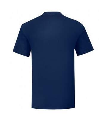 Fruit Of The Loom Mens Iconic T-Shirt (Navy) - UTPC3389
