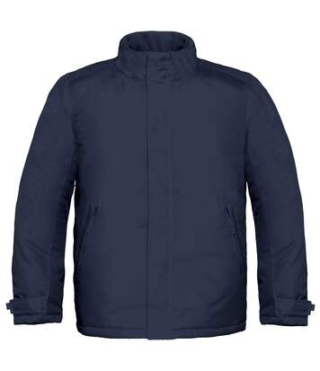 B&C Mens Real+ Premium Windproof Thermo-Isolated Jacket (Waterproof PU Coating) (Navy Blue) - UTBC2002