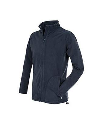 Stedman Mens Active Full Zip Fleece (Blue Midnight) - UTAB292