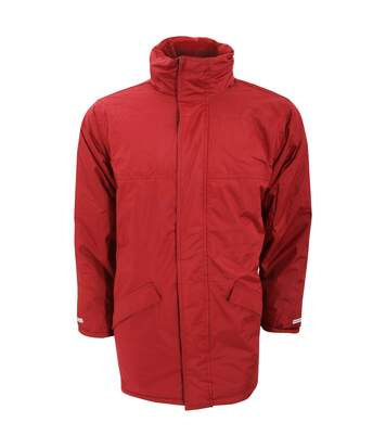 Result Mens Core Winter Parka Waterproof Windproof Jacket (Red) - UTBC901