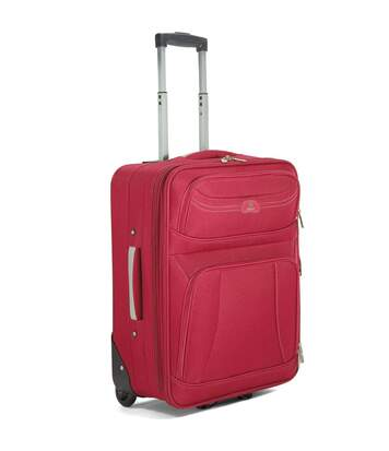 Valise cabine extensible BENZI 55cm - rouge