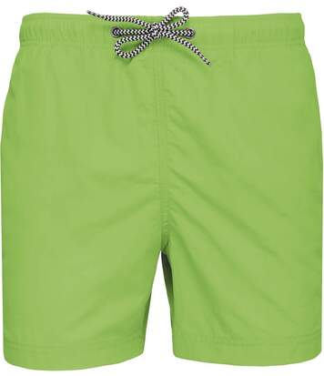 short de bain Homme - PA168 vert lime