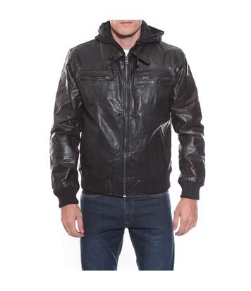 BLOUSON CUIR BUGSY - RITCHIE