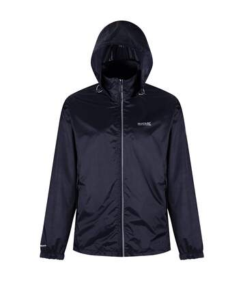 Regatta Mens Lyle IV Waterproof Hooded Jacket (Navy) - UTRG3476