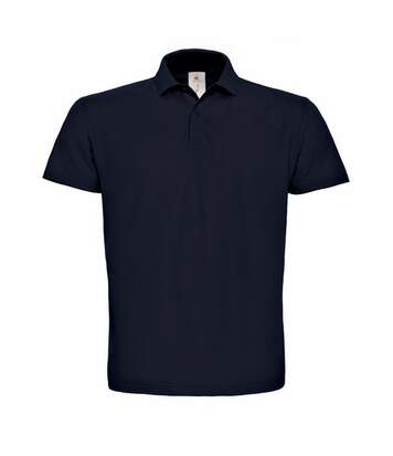 B&C ID.001 Unisex Adults Short Sleeve Polo Shirt (Navy Blue) - UTBC1285
