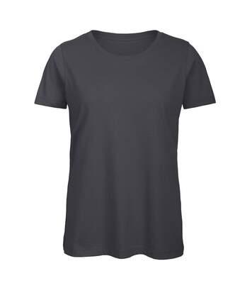 B&C - T-Shirt En Coton Bio - Femme (Gris foncé) - UTBC3641