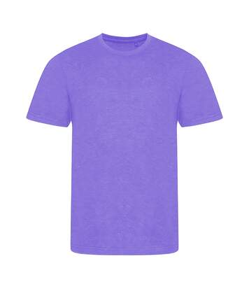 AWDis Mens Tri Blend T Shirt (Heather Purple) - UTPC2894