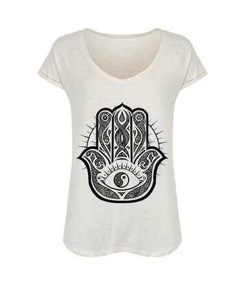 Unorthodox Collective - T-Shirt Vintage - Femme (Blanc) - UTGR136