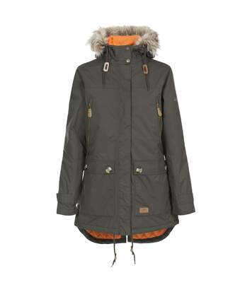 Trespass Womens/Ladies Clea Waterproof Parka Padded Jacket (Dark Khaki) - UTTP4500