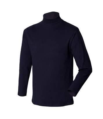 Henbury - Sweatshirt À Col Roulé - Homme (Bleu marine) - UTRW615
