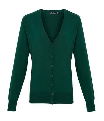 Premier - Gilet - Femme (Vert bouteille) - UTRW1133