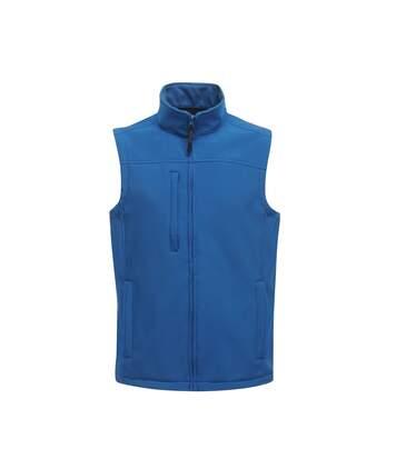 Regatta Mens Flux Softshell Bodywarmer / Sleeveless Jacket (Water Repellent & Wind Resistant) (Oxford) - UTRW1213