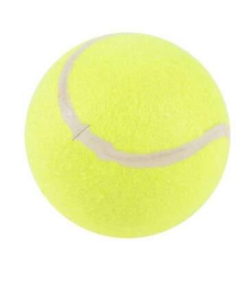 Paris Prix - Jouet Pour Chien balle De Tennis 13cm Jaune